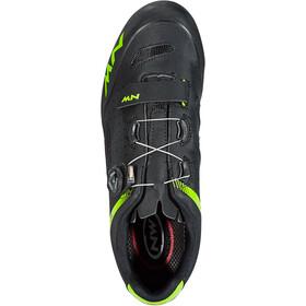Northwave Origin Plus Shoes Herre black/green